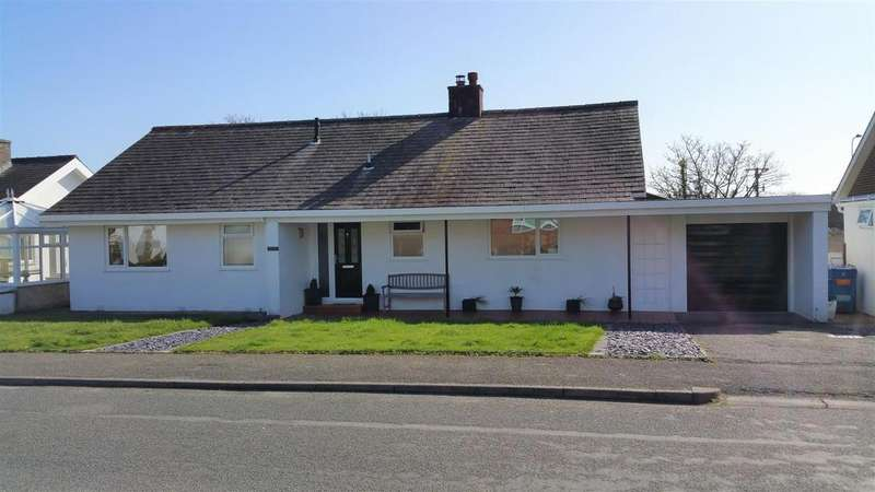 3 Bedrooms Detached Bungalow for sale in Erwenni, Pwllheli