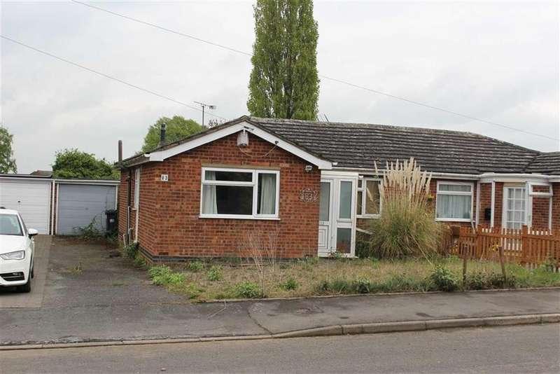 3 Bedrooms Semi Detached Bungalow for sale in Holt Avenue, Bishops Tachbrook, CV33