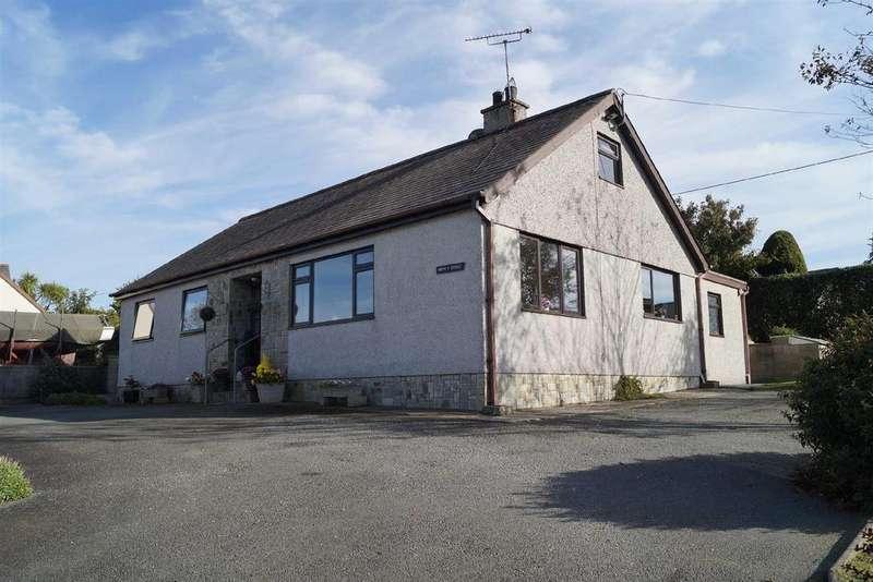 3 Bedrooms Detached Bungalow for sale in Lon Terfyn, Morfa Nefyn