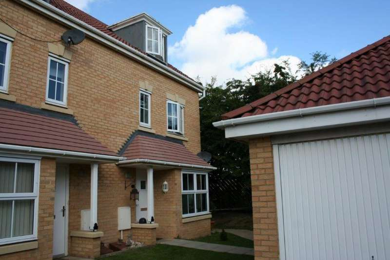 4 Bedrooms Semi Detached House for sale in Hilcott Close, Ingleby Barwick, Stockton-On-Tees