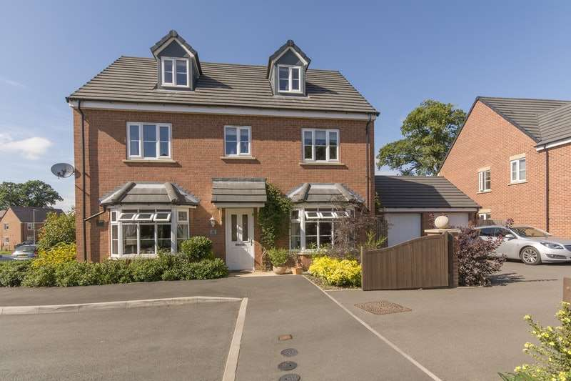 5 Bedrooms Detached House for sale in Hough Way, Shifnal, Shropshire, TF11