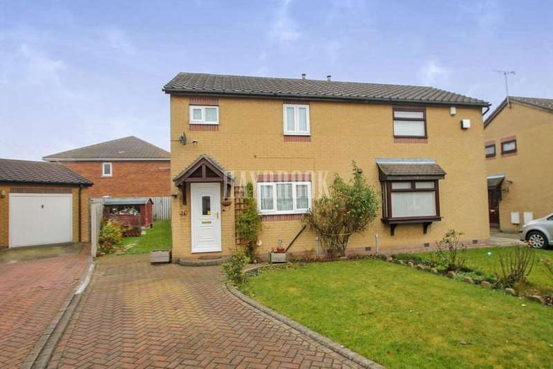 2 Bedrooms Semi Detached House for sale in Sandall View, Dinnington