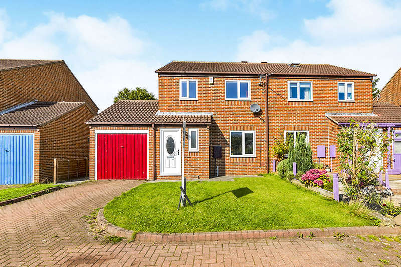 3 Bedrooms Semi Detached House for sale in Heatherburn Court, Newton Aycliffe, DL5