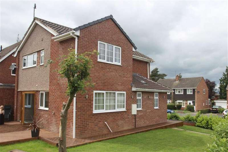 4 Bedrooms Detached House for sale in Brookfield, Bayston Hill, Shrewsbury