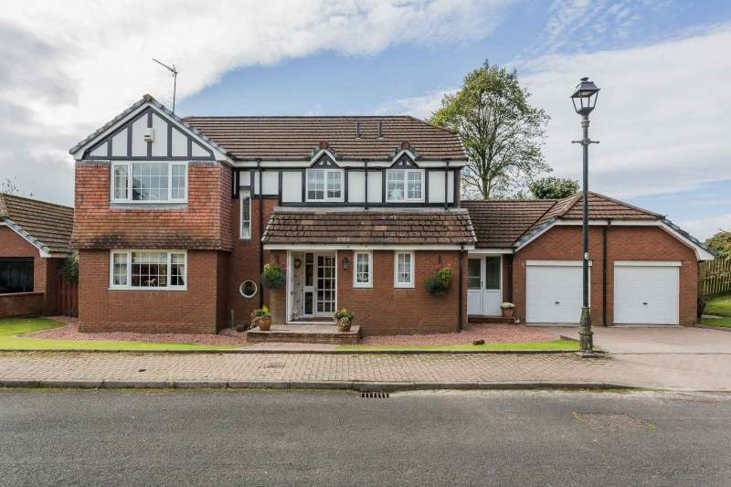 4 Bedrooms Detached Villa House for sale in Craigbet Avenue, Quarrier's Village, Bridge of Weir, PA11 3QX