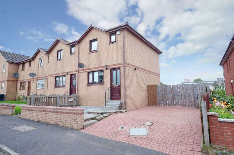2 Bedrooms End Of Terrace House for sale in Station Road, Cleland, Motherwell, ML1 5NW