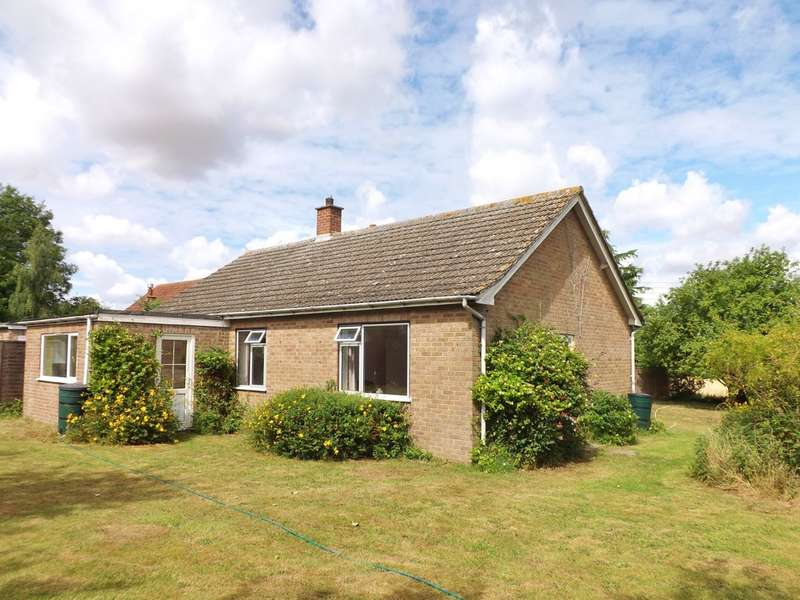 3 Bedrooms Detached Bungalow for sale in Church Lane, Wicklewood