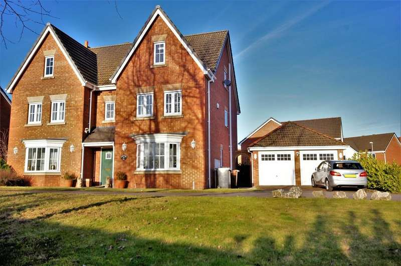 6 Bedrooms Detached House for sale in Londinium Way, North Hykeham, Lincoln