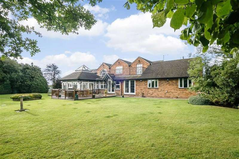 5 Bedrooms Detached House for sale in Church Lane, Wishaw, Sutton Coldfield