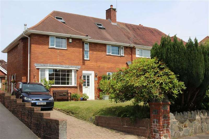 5 Bedrooms Semi Detached House for sale in Cherry Grove, Sketty