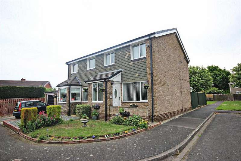 3 Bedrooms Semi Detached House for sale in Penhill Close, Ouston, Chester Le Street
