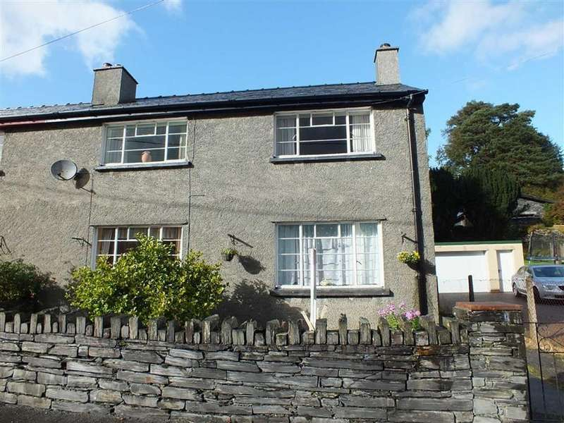 3 Bedrooms Semi Detached House for sale in Trem Y Bennar, Dolwyddelan