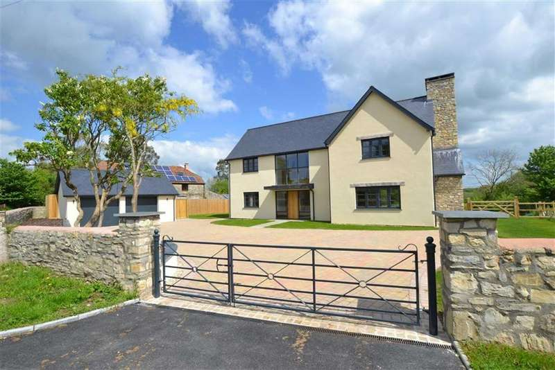 5 Bedrooms Detached House for sale in Stoke St Mary, Stoke St Mary, Taunton, Somerset, TA3