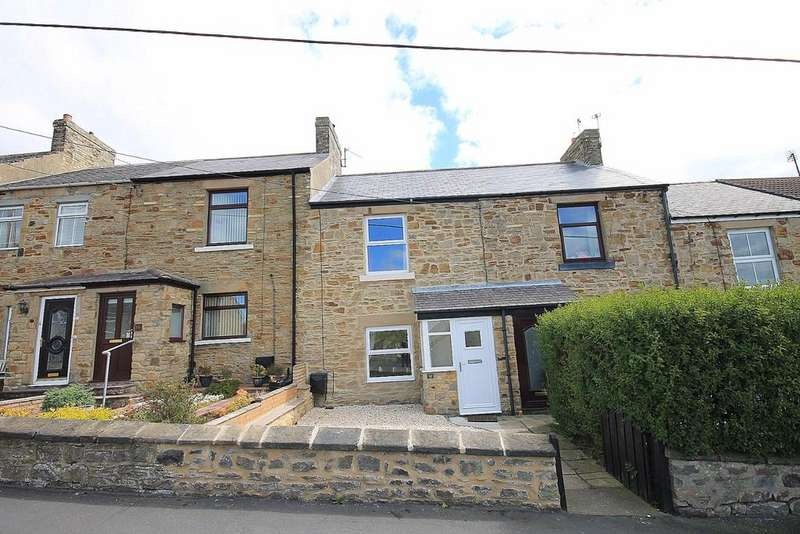 2 Bedrooms Terraced House for sale in West Terrace, Billy Row, Crook