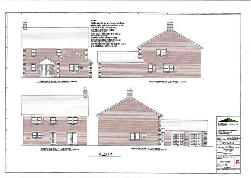 4 Bedrooms Land Commercial for sale in Building Plot No 4, Newton Arlosh