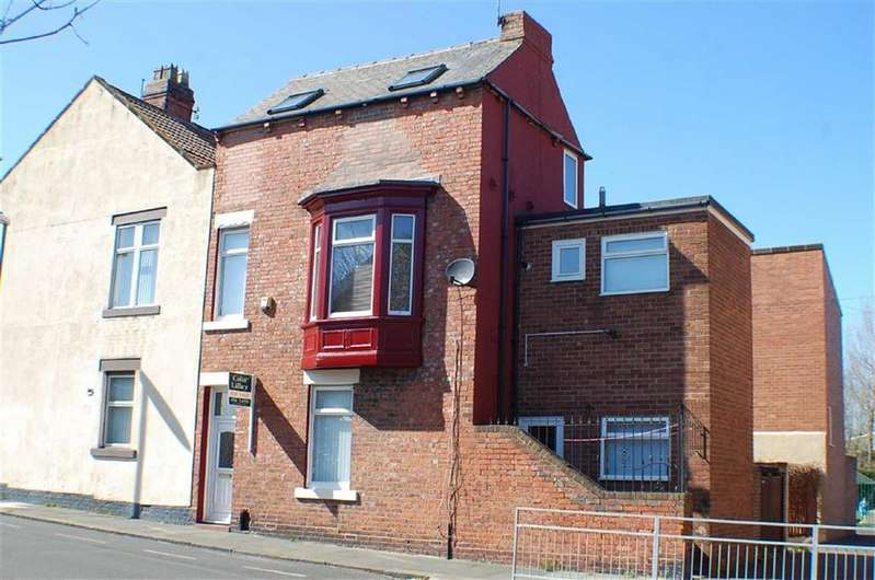 3 Bedrooms End Of Terrace House for sale in Vine Street, South Shields, South Shields