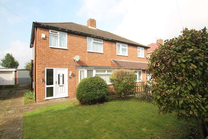 3 Bedrooms Semi Detached House for sale in Brightside Avenue, Staines-upon-Thames, TW18
