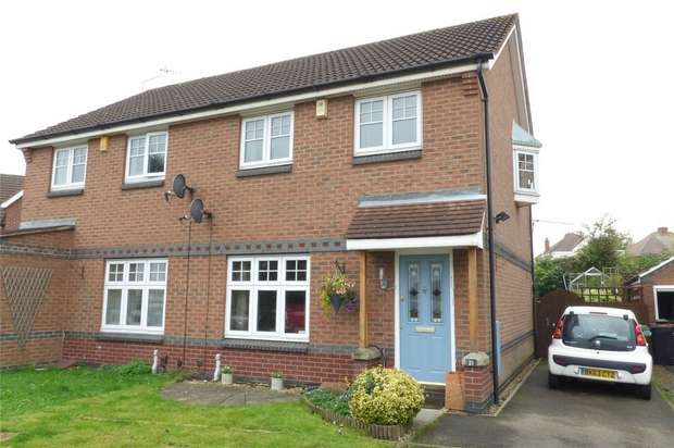 3 Bedrooms Semi Detached House for sale in Rivermead, Nuneaton, Warwickshire
