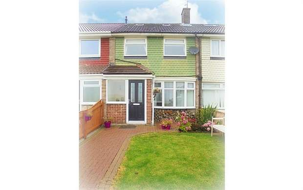 2 Bedrooms Terraced House for sale in Melrose Avenue, Murton, Seaham, Durham