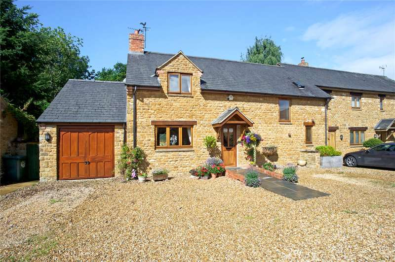3 Bedrooms Semi Detached House for sale in The Courtyard, Milton, Oxfordshire, OX15