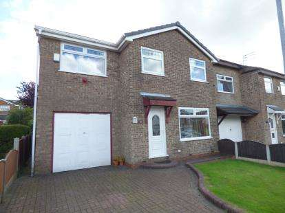 4 Bedrooms Detached House for sale in Lindisfarne Road, Ashton, Ashton-Under-Lyne, Greater Manchester