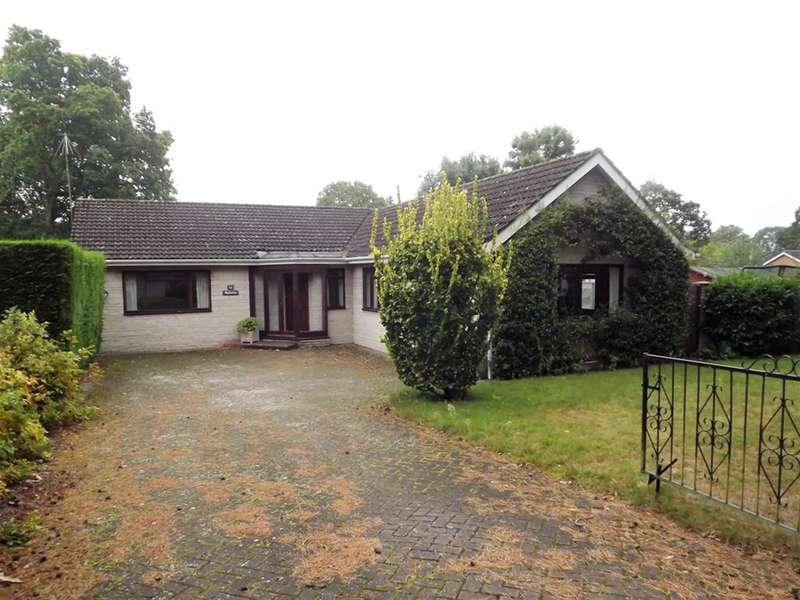 3 Bedrooms Bungalow for sale in Woodland Drive, Woodhall Spa, LN10 6YF