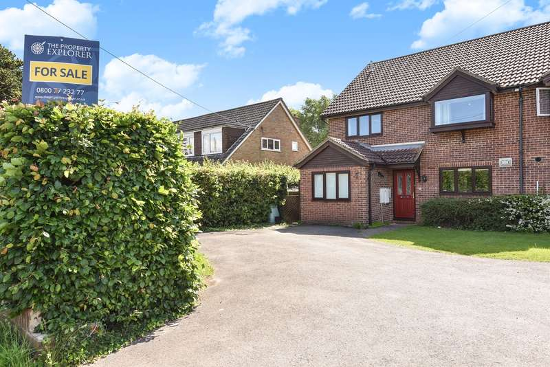 4 Bedrooms Semi Detached House for sale in Oakley Lane, Oakley, Basingstoke, RG23