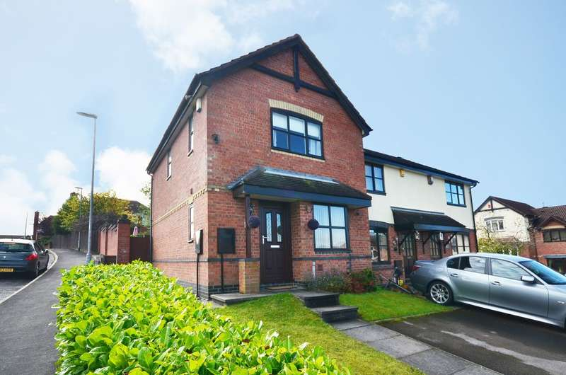 3 Bedrooms Town House for sale in Penmark Grove, Lightwood, ST3 7YU
