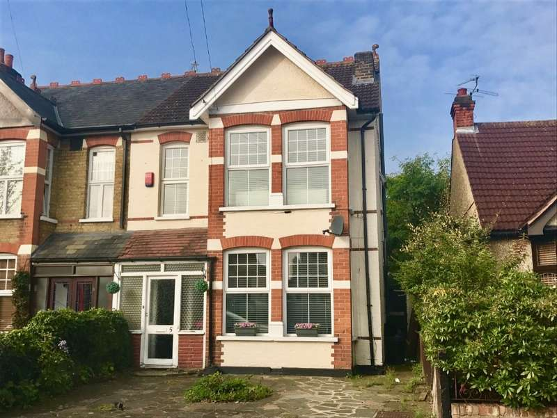 4 Bedrooms Semi Detached House for sale in Lawrence Road, Gidea Park