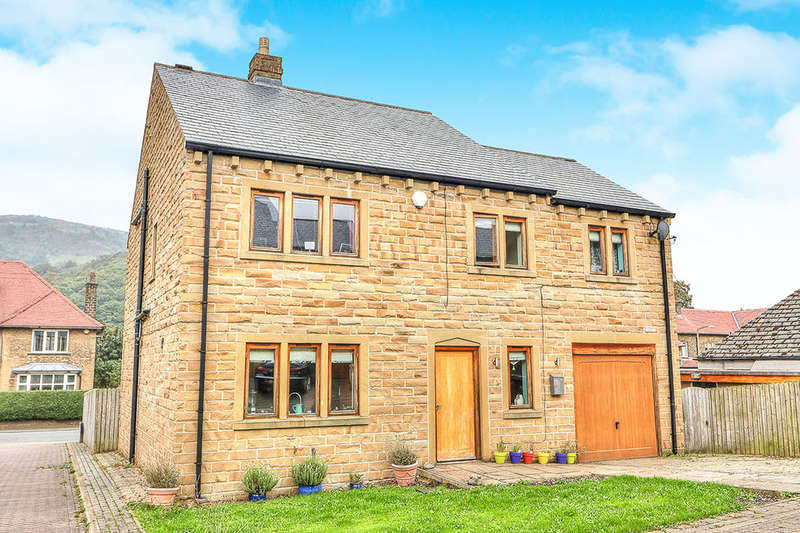 5 Bedrooms Detached House for sale in Nordene Close, Mytholmroyd, Hebden Bridge, HX7