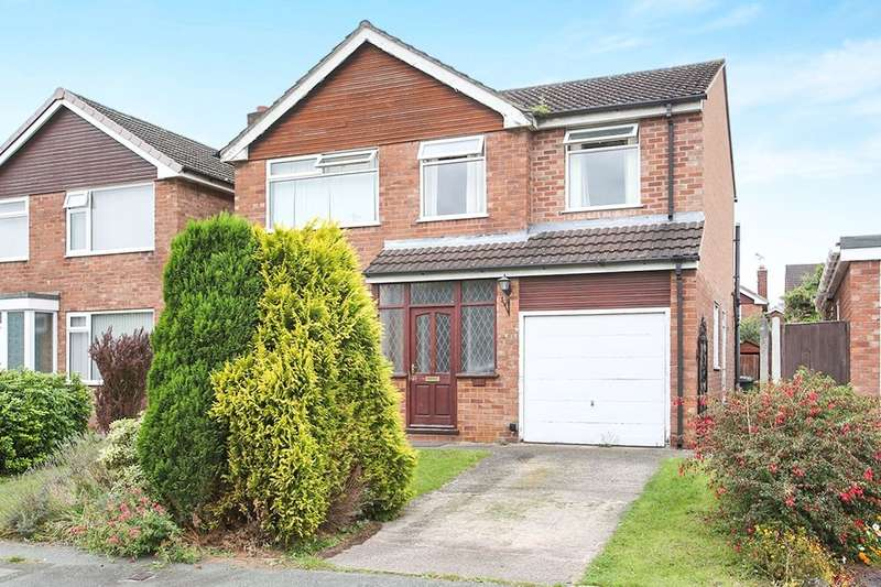 4 Bedrooms Detached House for sale in Sandown Crescent, Cuddington, Northwich, CW8