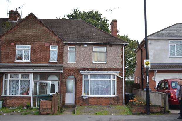 3 Bedrooms Semi Detached House for sale in Burnaby Road, Holbrooks, Coventry, West Midlands
