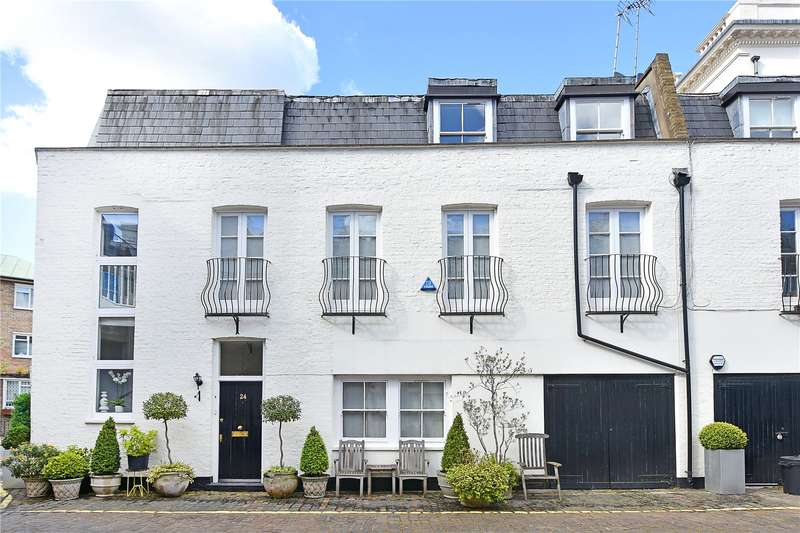 3 Bedrooms Mews House for sale in Hyde Park Gardens Mews, Lancaster Gate, London, W2