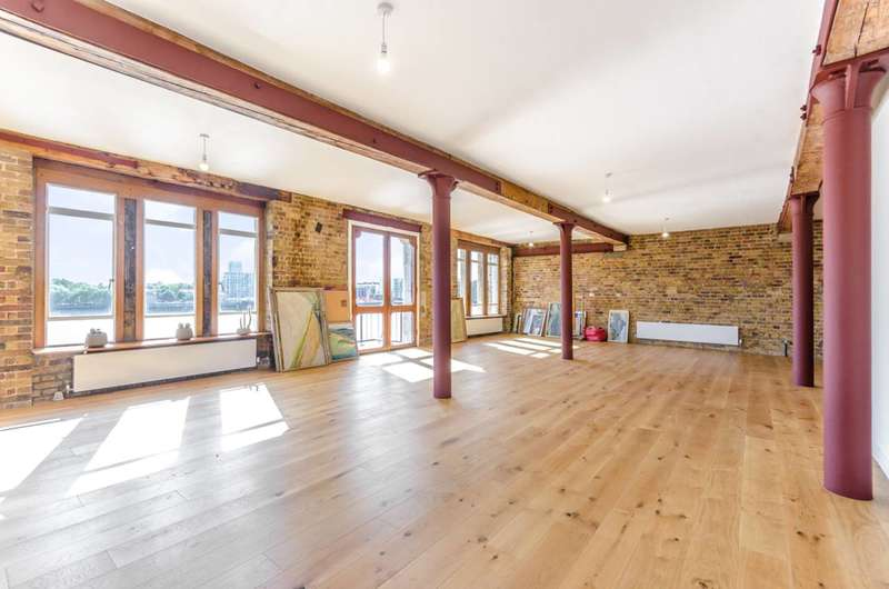 4 Bedrooms Flat for rent in Wapping High Street, Wapping, E1W