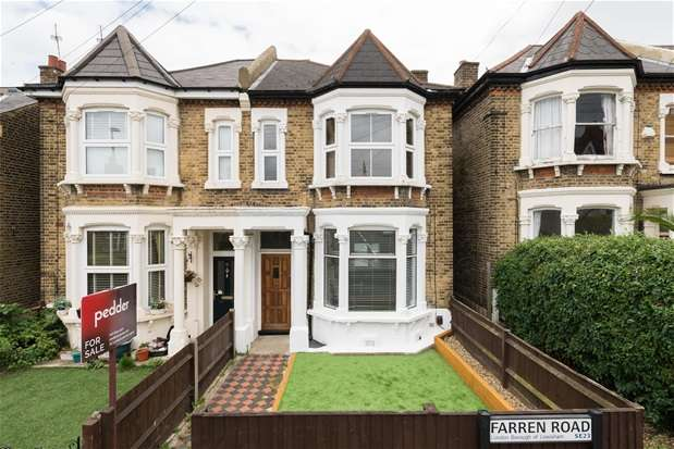 2 Bedrooms Flat for sale in Farren Road, Forest Hill