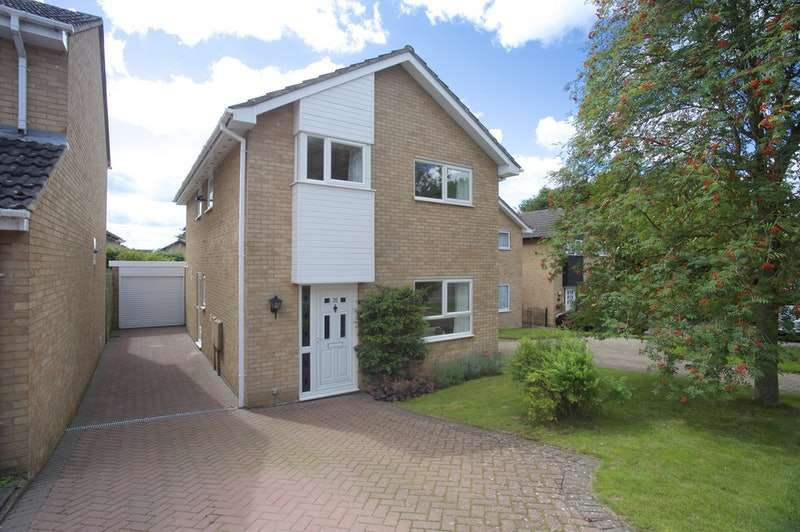 4 Bedrooms Detached House for sale in Cartwright Crescent, Brackley, Northamptonshire, NN13