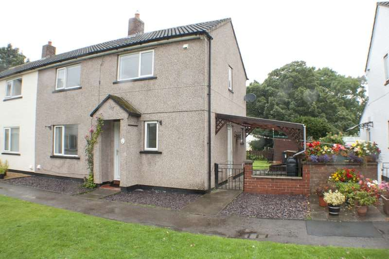3 Bedrooms Semi Detached House for sale in Applegarth, Carlisle, Cumbria, CA6