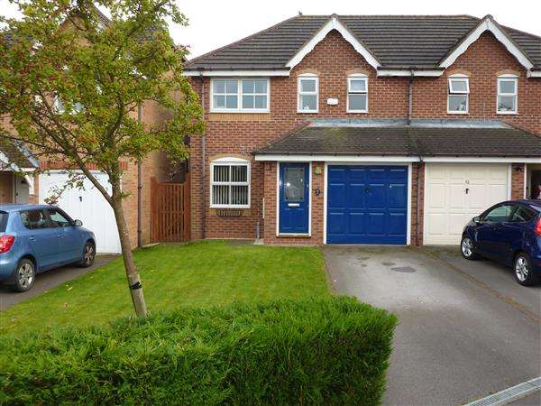 3 Bedrooms Semi Detached House for sale in SNOWDROP CLOSE, HEALING, GRIMSBY