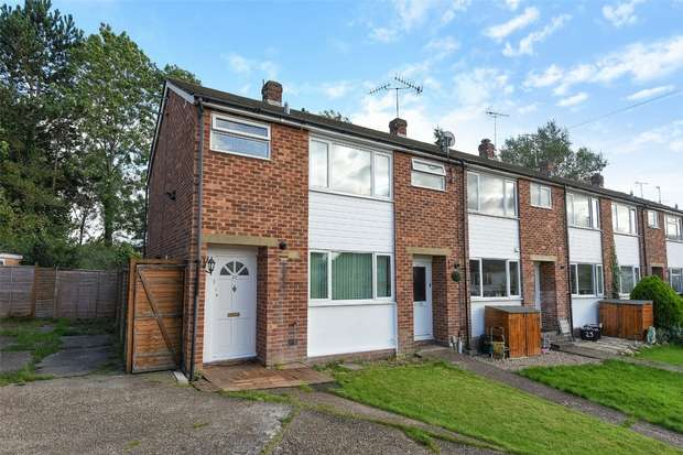 3 Bedrooms End Of Terrace House for sale in Tanhouse Lane, WOKINGHAM, Berkshire