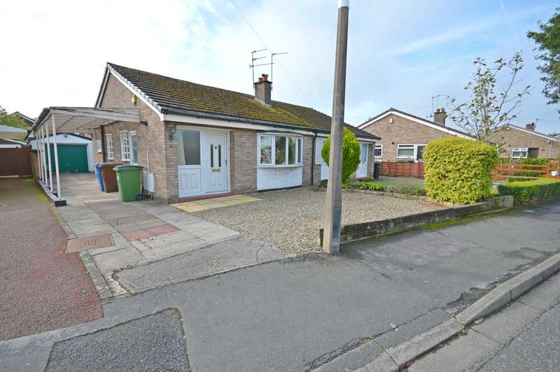 2 Bedrooms Semi Detached Bungalow for sale in Fountains Road, Cheadle Hulme
