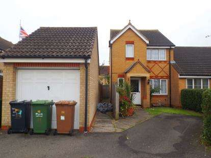 3 Bedrooms Semi Detached House for sale in Portchester Close, Park Farm, Peterborough, Cambs