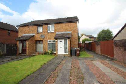 1 Bedroom Semi Detached House for sale in Springholm Drive, Airdrie, North Lanarkshire