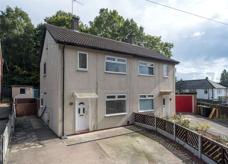 2 Bedrooms Semi Detached House for sale in Cranmer Bank, Leeds, West Yorkshire, LS17