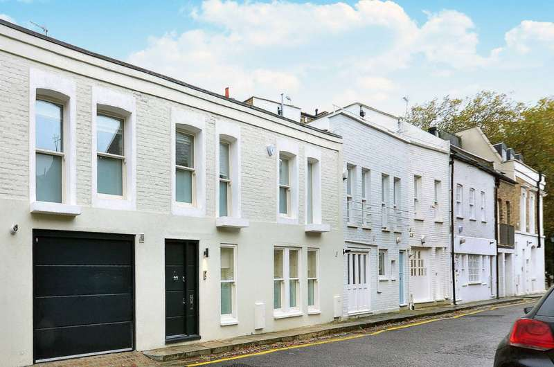 3 Bedrooms Mews House for sale in Pottery Lane, Holland Park, W11
