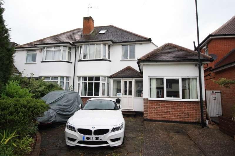 4 Bedrooms Semi Detached House for sale in Kingsdown Road, Birmingham, West Midlands, B31