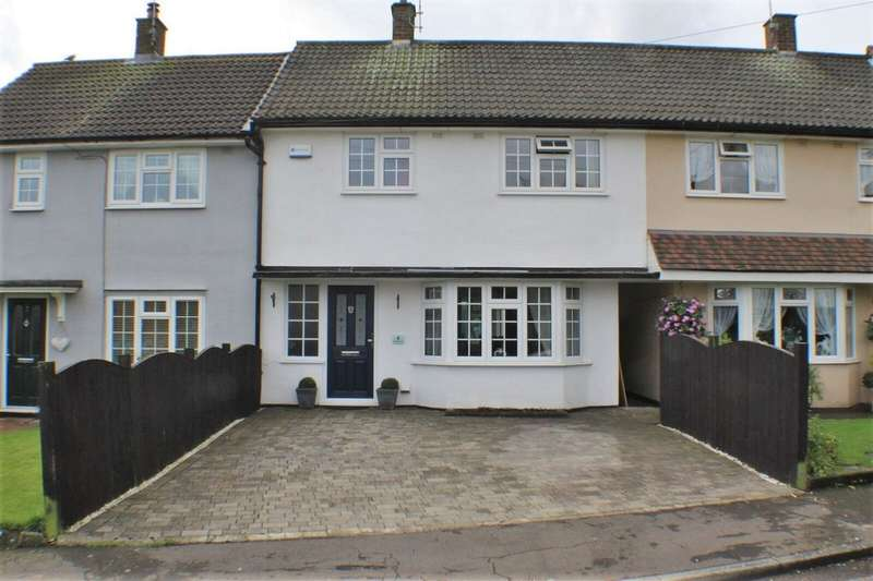 3 Bedrooms Terraced House for sale in Wingfield Close, Brentwood