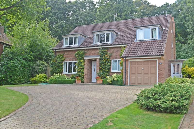 4 Bedrooms Detached House for sale in Reddings, Welwyn Garden City, AL8