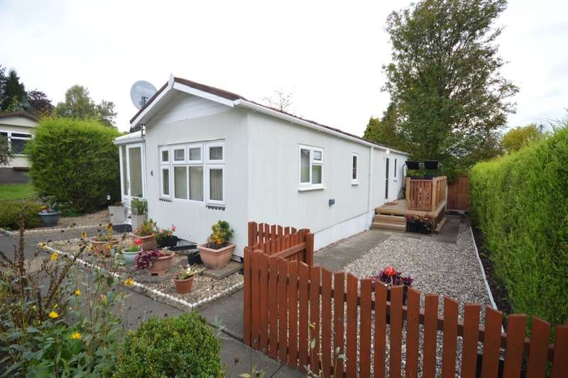 2 Bedrooms Detached Bungalow for sale in White Harte Caravan Park, Kinver, Stourbridge, DY7