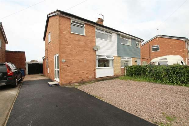 3 Bedrooms Semi Detached House for sale in Deepmore Close, Alrewas, Burton upon Trent, Staffordshire