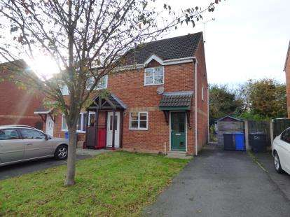2 Bedrooms End Of Terrace House for sale in Pendleside Way, Littleover, Derby, Derbyshire